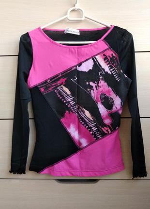36-38р блузка-кофта, спинка сеточка apriori
