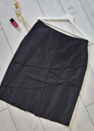 Модная юбка карандаш миди.