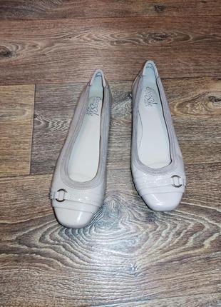 Балетки туфли нюд