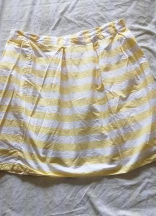 Легкая юбка в модный принят 16 р