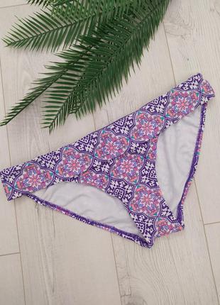 Фіолетові трусики від купальника