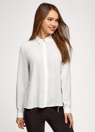 Белая рубашка oodji