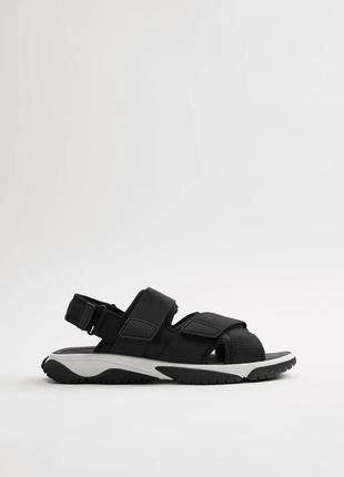 Мужские сандалии босоножки zara