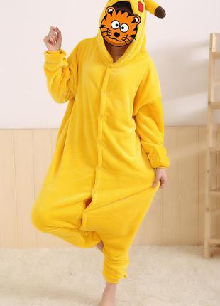 Костюм пижама кигуруми пикачу 150-160 см