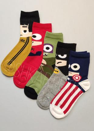 Шкарпетки супергерої