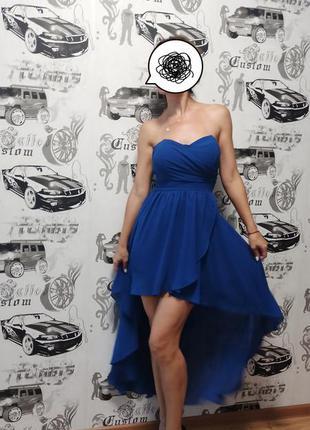 Ассимитричное платье