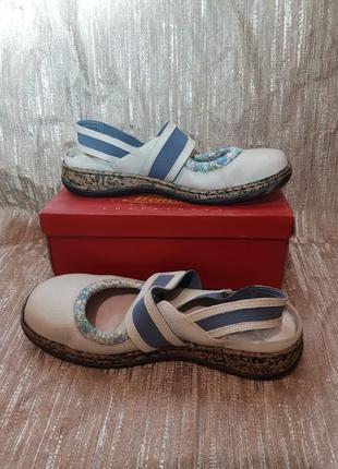 Босоножки сандали нат кожа 38р
