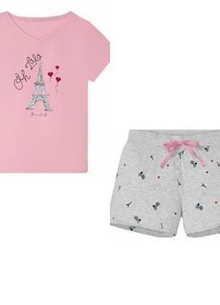 Комплект для дома и отдыха пижама летняя1 фото