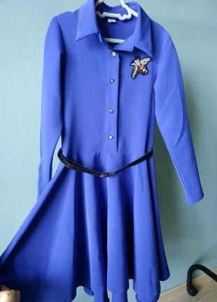 Платье для девочки 146-152см.