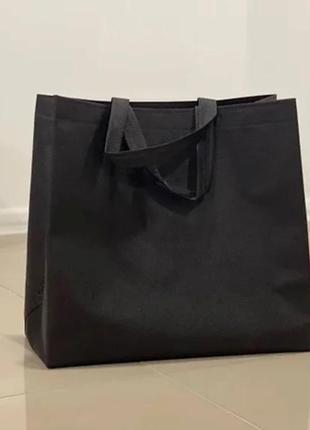Шопер шоппер эко еко сумка тканевая для покупок чорний чёрный черный тканинна складна торба многоразовая жіноча