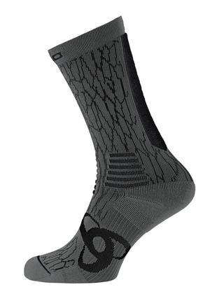 Мужские  спортивные термо носки  беговые  odlo ceramicool    пол унисекс размер 42 - 44
