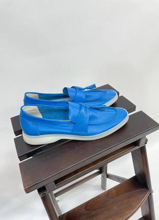 М'які шкіряні лоферы туфли кожаные лоферы