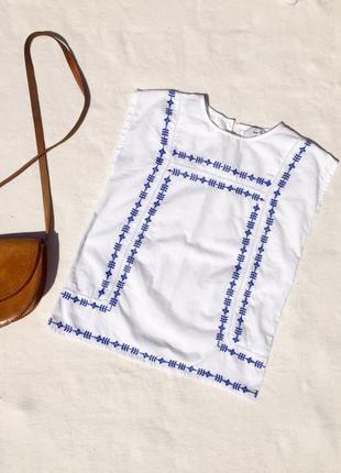 Блуза вышиванка франция размер xs 34 s 36