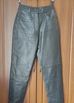 Штаны кожа gerry weber