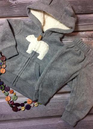 Теплый зимний детский костюм carter's оригинал