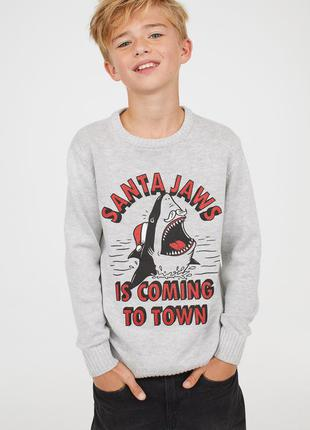 Новорічні светри для хлопчиків 14+ років від фірми h&m швеція