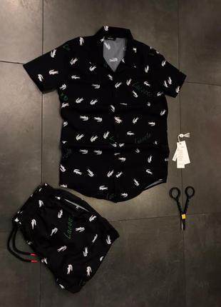 Комплект костюм рубашка шорти