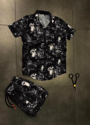 Рубашка шорти костюм комплект