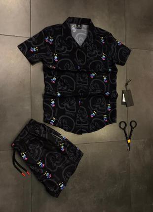 Костюм комплект сорочка шорти