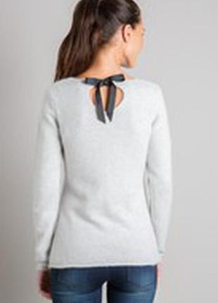 Теплый вязаный свитер туника из ангоры от bonobo
