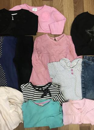 Одяг для дівчинки 12-24 місяці одяг на дівчинку до 2х років реглани лосіни скіни худі болеро