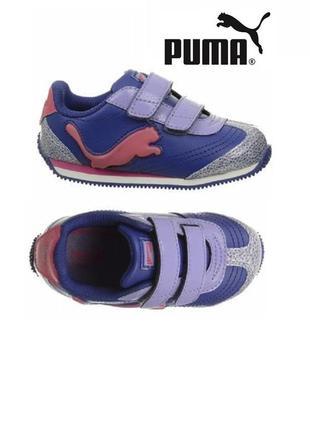 Puma speeder illuminesc оригинал светящиеся кроссовки на липучках бренд из сша