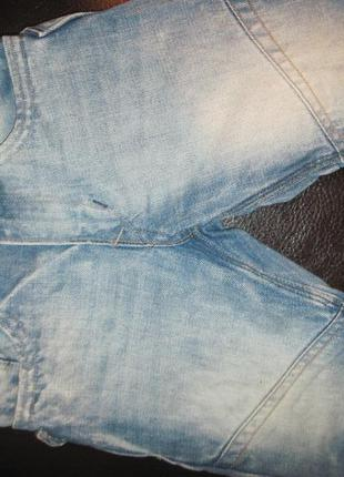 Шорты джинсовые h&m удлинённые рост 98 см 2-3-4 года