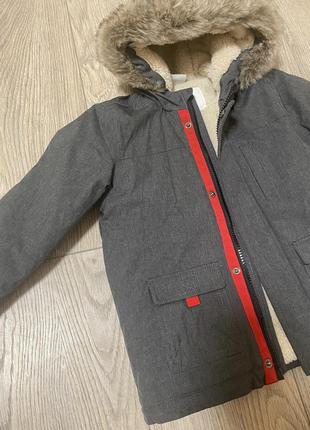 Куртка теплая в стиле zara