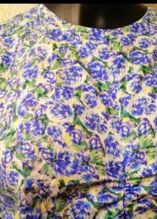 Фирменное блузка в цветочный принт