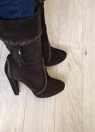 Замшевые ботинки braska зима