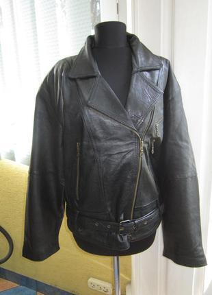 Стильная женская куртка - косуха с поясом ! кожа!! очень много курток!!