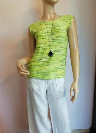 Фирменная блуза-маечка/s/brend escada