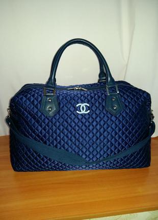 """Универсальная, большая сумка с длинной ручкой в стиле """"chanel""""!"""