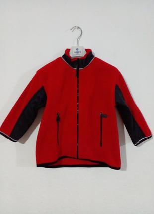 Флісова курточка олімпійка