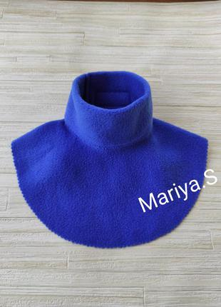 Манишка флис зимняя теплая из флиса шарф шарфик снуд хомут бафф