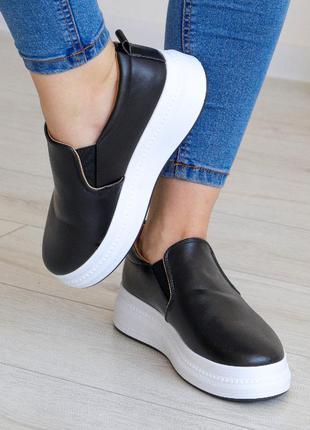 Слипоны женские 3186 кеды кроссовки слипони жіночі кеди кросівки