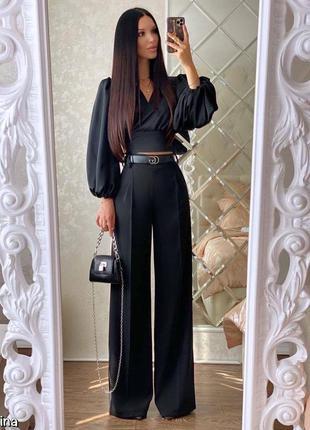 Женские брюки, нарядные брюки, брюки палаццо