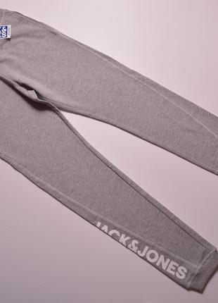 Школа✨серые спортивные брюки, трикотажні штани jack&jones в размере 164, на подростка 14 лет мегаякісні...