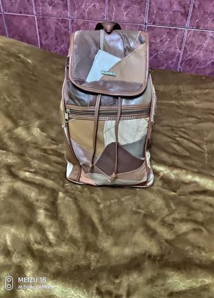 Кожаный рюкзак stefano/германия