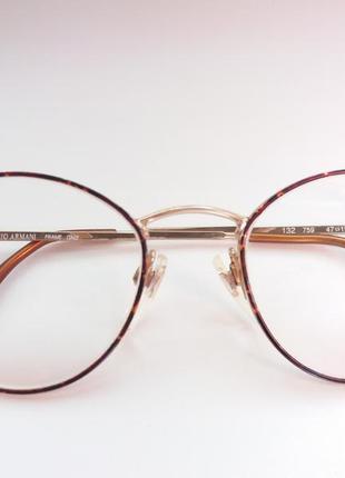 Очки винтаж  giorgio armani 132 модель 759 цвет оправа