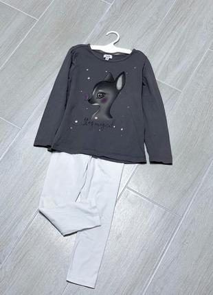 Костюм реглан комплект в садик или как пижама одежда для дома