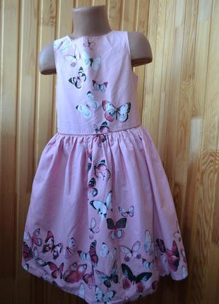 Красивое платье primark 7-8 лет рост 122-128