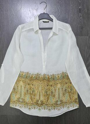 Рубашка massimo dutti размер м l оригинал