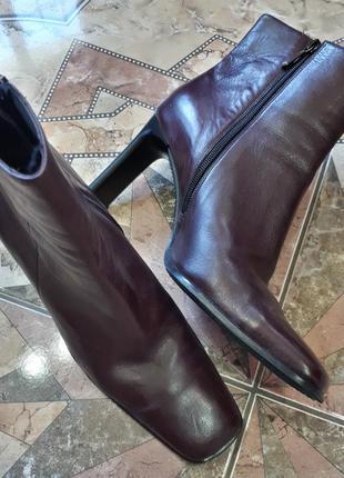 Luciano barachini ботильоны кожаные итальянские ботинки полусапоги