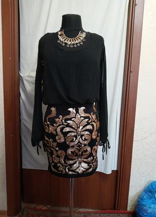 Платье коктельное,новое,  s - m, ц. 150 гр