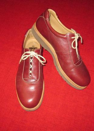 Кожаные туфли allen pierce goodyear welted англия church's cheaney