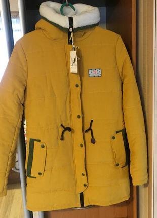 Куртка -парка зима синтепон