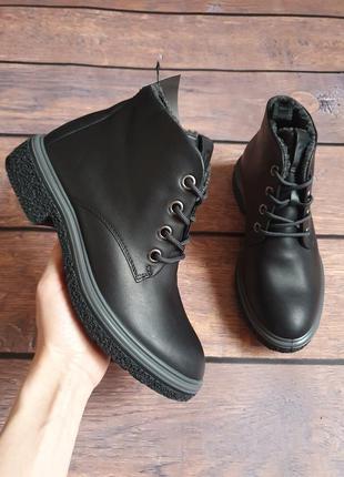 Зимниее ботинки ecco crepetray оригинал