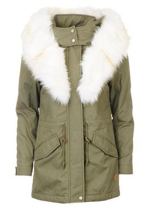 Куртка парка меховая брендовая