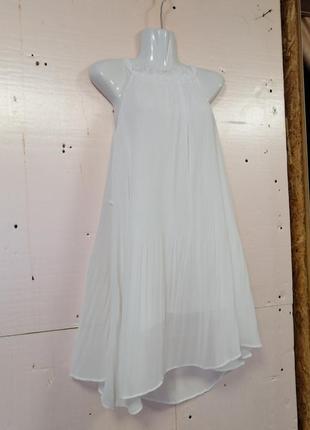 Платье короткое шифон